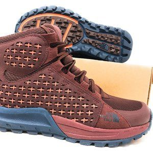 North Face Womens Hiking Mountain Sneaker Mid 8.5